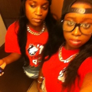 Roomie of Life, Ngozi. (NIU Homecoming Football game 2013)