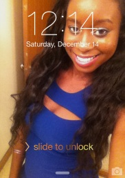 I'm Cute. caught the Bday on the clock